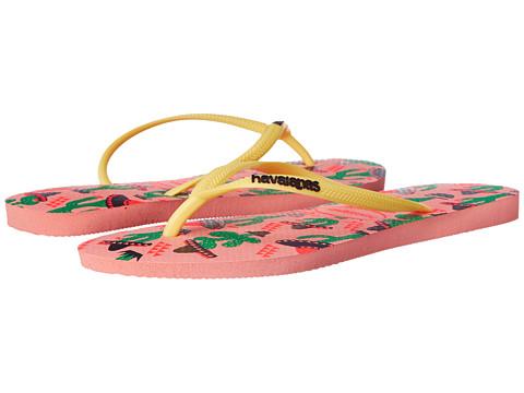 Incaltaminte Femei Havaianas Slim Cool Flip Flops Light Pink