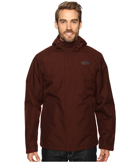 Imbracaminte Barbati The North Face Inlux Insulated Jacket Sequoia Red Heather (Prior Season)