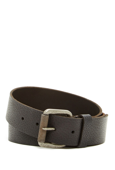 Accesorii Barbati Timberland 40mm Milled Pull-Up Belt BLACK