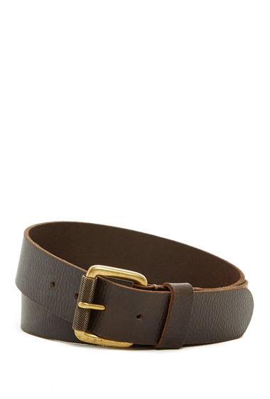 Accesorii Barbati Timberland 40mm Milled Pull-Up Belt DARK BROWN