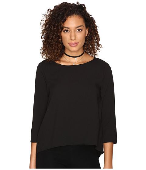 Imbracaminte Femei BB Dakota Tamar Crepe Top Black