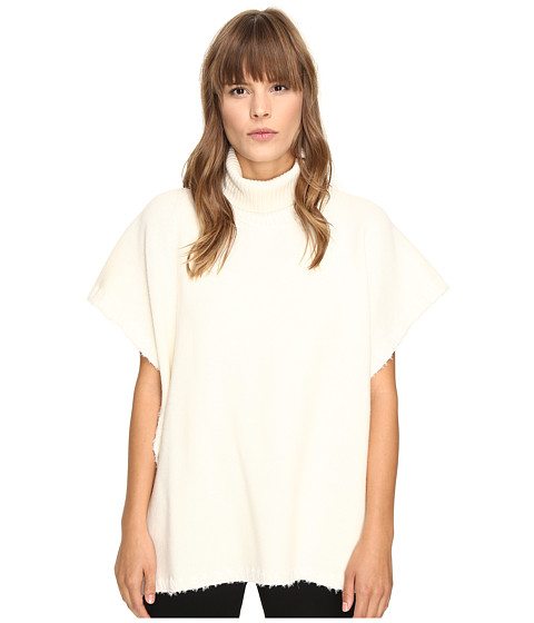 Imbracaminte Femei See by Chloe Turtleneck Poncho Natural White