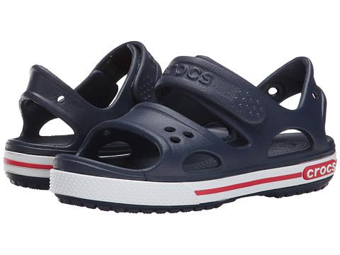 Incaltaminte Fete Crocs Crocband II Sandal (ToddlerLittle Kid) NavyWhite