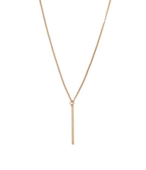 Bijuterii Femei Forever21 Matchstick Pendant Necklace Gold