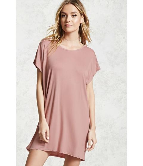 Imbracaminte Femei Forever21 Dolman T-Shirt Dress Mauve