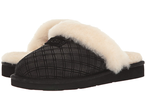 Incaltaminte Femei UGG Cozy Double Diamond Holiday Gift Box Black