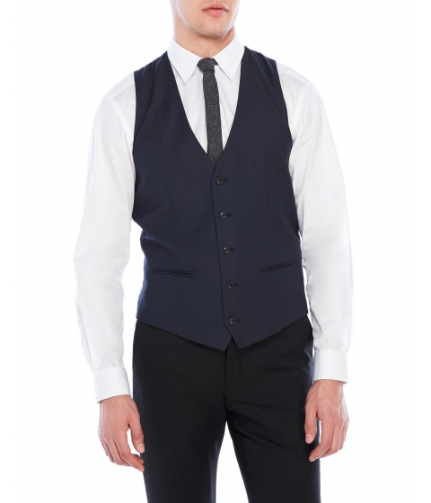 Imbracaminte Barbati Moods of Norway Jone Slim Vest Navy