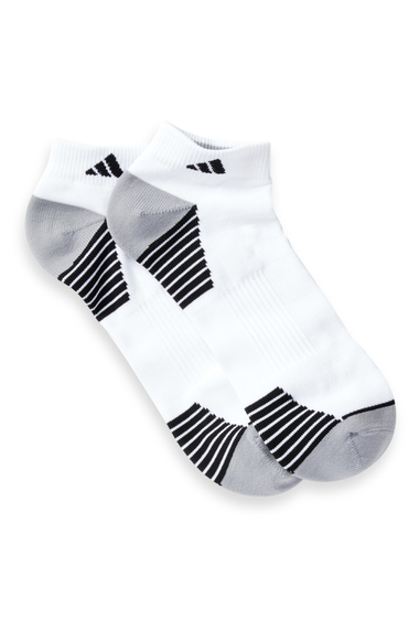Accesorii Barbati adidas Climalite Compression Low Cut Socks - Pack of 2 WHITE