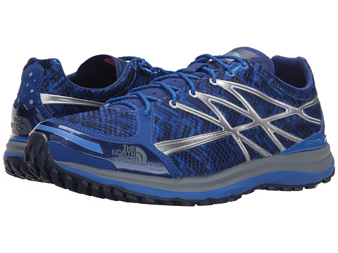Incaltaminte Barbati The North Face Ultra TR II Limoges BlueMonument Grey Print (Prior Season)