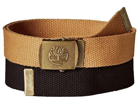 Accesorii Barbati Timberland 2-in-1 Boxed Web Belt Pack Black