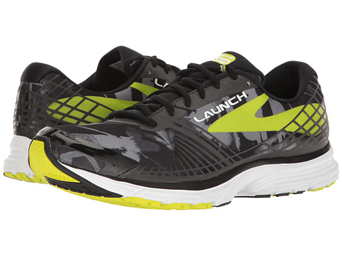 Incaltaminte Barbati Brooks Launch 3 BlackPrimer GreyLime Punch