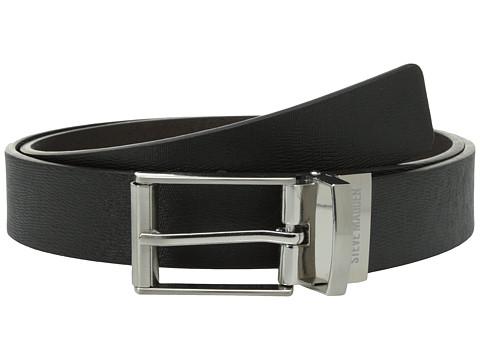 Accesorii Barbati Steve Madden 32mm Saffiano Reversible Belt BlackBrown