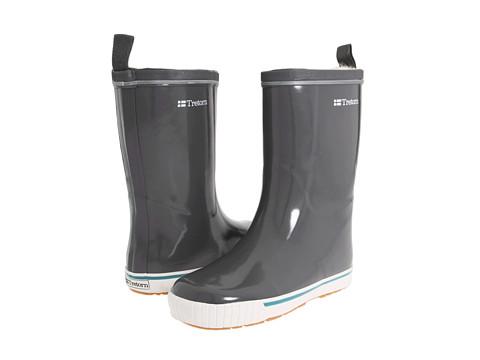 Incaltaminte Femei Tretorn Skerry Metallic Rain Boot Glossy Charcoal Gray