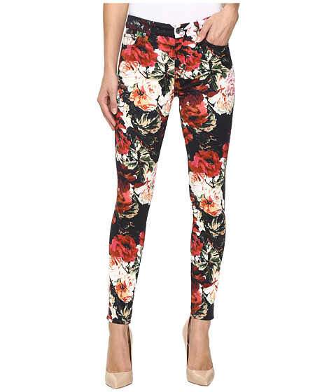 Imbracaminte Femei 7 For All Mankind The Ankle Skinny w Contour Waist Band in Victorian Garden Victorian Garden