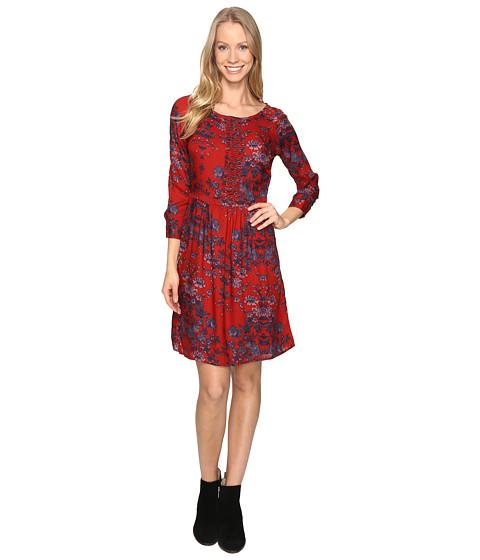 Incaltaminte Femei Lucky Brand Macrame Dress Red Multi