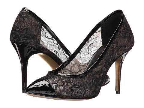 Incaltaminte Femei Oscar de la Renta Willow 85mm Black LacePatent Leather