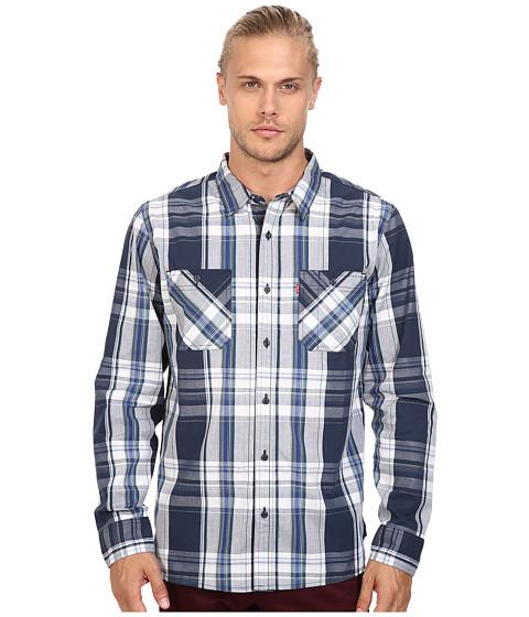 Imbracaminte Barbati Levis Gibson Poplin Long Sleeve Woven Shirt Dress Blues
