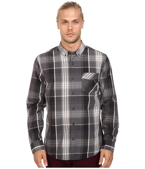Imbracaminte Barbati Levis Caesar Poplin Long Sleeve Woven Shirt Ebony
