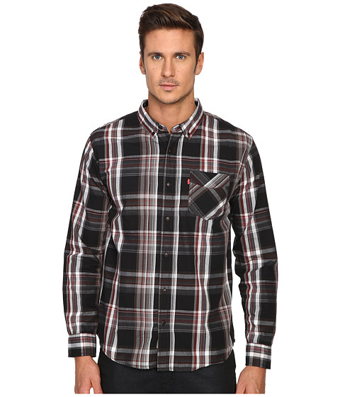 Imbracaminte Barbati Levis Llandaff Long Sleeve Woven Shirt Black Coffee