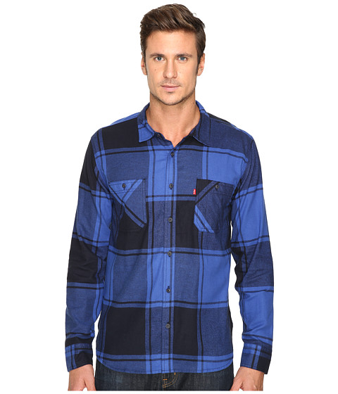 Imbracaminte Barbati Levis Bookie Flannel Long Sleeve Woven Shirt Mazarine Blue