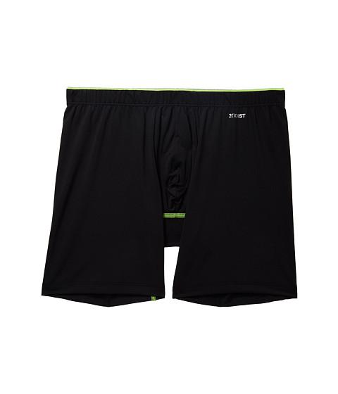 Imbracaminte Barbati 2(X)IST Sliq Micro Sliq Long Leg Boxer Brief Black New Logo