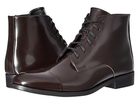 Incaltaminte Barbati Calvin Klein Darsey Dark Brown Box Leather