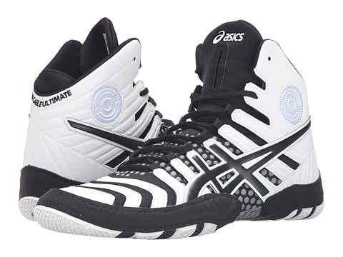 Incaltaminte Barbati ASICS Dan Gable Ultimatereg 4 WhiteBlackAluminum