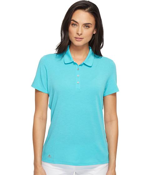 Imbracaminte Femei adidas Rangewear Short Sleeve Polo Energy BlueLight Heather Grey