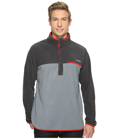 Imbracaminte Barbati Columbia Mountain Side Fleece Jacket Grey AshSharkMoutain Red