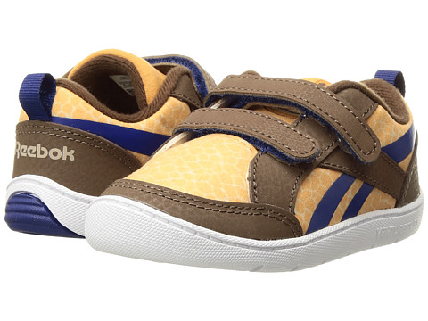 Incaltaminte Baieti Reebok Ventureflex Critter Feet (Toddler) Dark BrownOatmealRich CamelCobalt