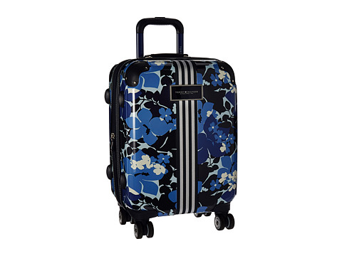 Accesorii Femei Tommy Hilfiger Floral 21quot Upright Suitcase Blue