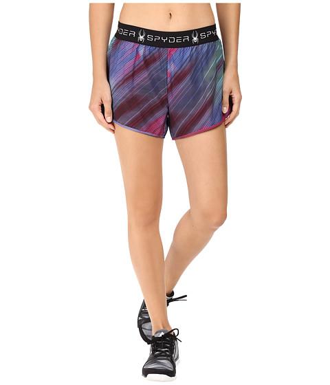 Imbracaminte Femei Spyder Ruling 2-In-1 Shorts Geo Rays Voila
