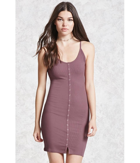 Imbracaminte Femei Forever21 Ribbed Knit Bodycon Dress Lavender