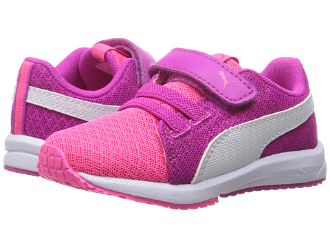 Incaltaminte Fete PUMA Kids Carson Runner Mesh VE V INF (Toddler) Knockout PinkPuma White