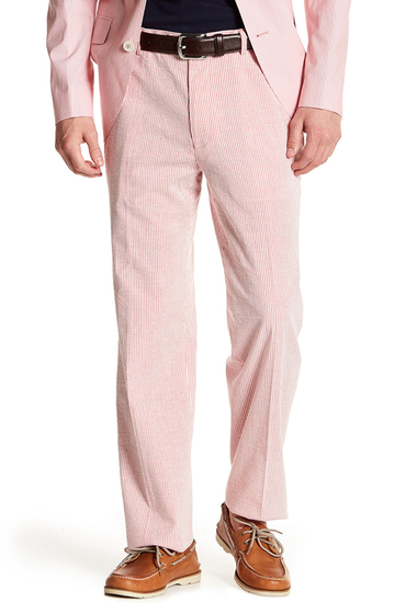 Imbracaminte Barbati Tommy Hilfiger Hall Red Striped Woven Pant - 30-34 Inseam RED-WHIT