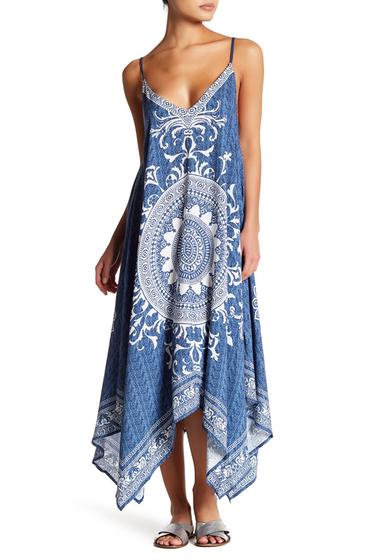 Imbracaminte Femei Flying Tomato Piece Print Dress DENIM BLUE