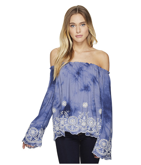 Imbracaminte Femei Romeo Juliet Couture Off Shoulder Embroidered Top Tie-Dye