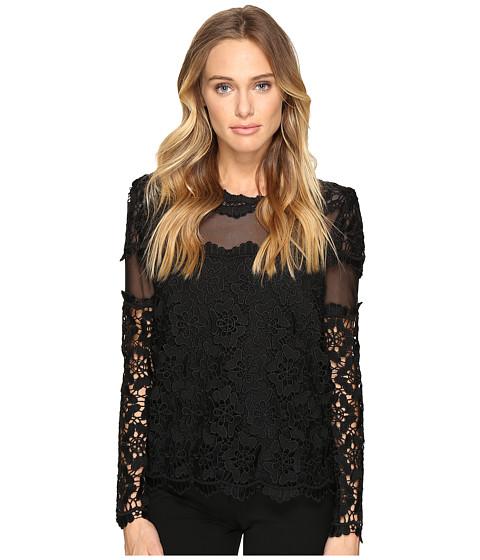 Imbracaminte Femei Romeo Juliet Couture Long Sleeve Lace Top Black