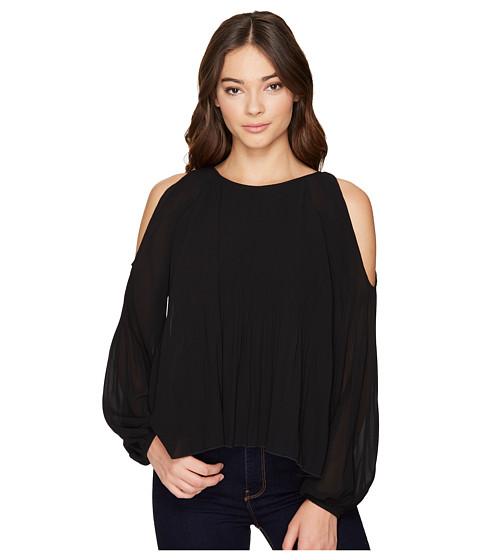 Imbracaminte Femei Romeo Juliet Couture Cold Shoulder Pleated Top Black