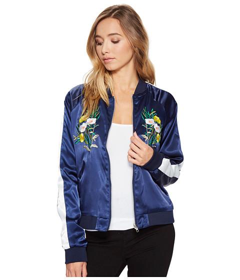 Imbracaminte Femei Romeo Juliet Couture Floral Bomber Jacket Navy