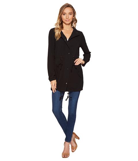 Imbracaminte Femei Romeo Juliet Couture Hooded Parka Jacket Black