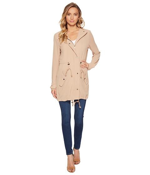 Imbracaminte Femei Romeo Juliet Couture Hooded Parka Jacket Khaki