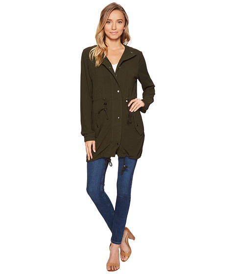 Imbracaminte Femei Romeo Juliet Couture Hooded Parka Jacket Olive
