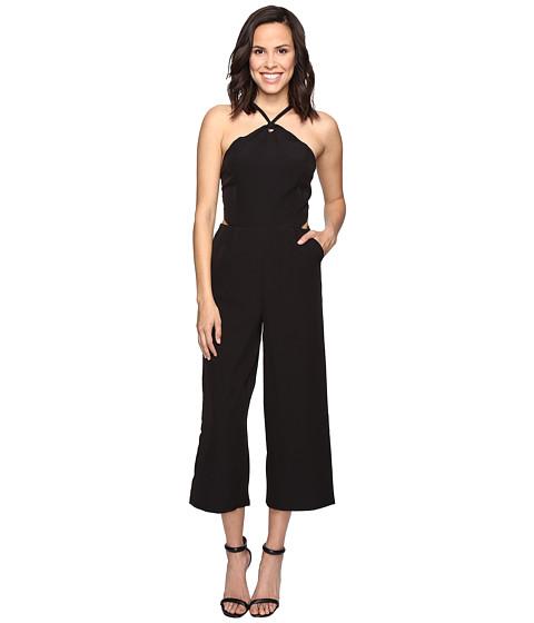 Imbracaminte Femei Romeo Juliet Couture Halter Cross Strap Jumpsuit Black