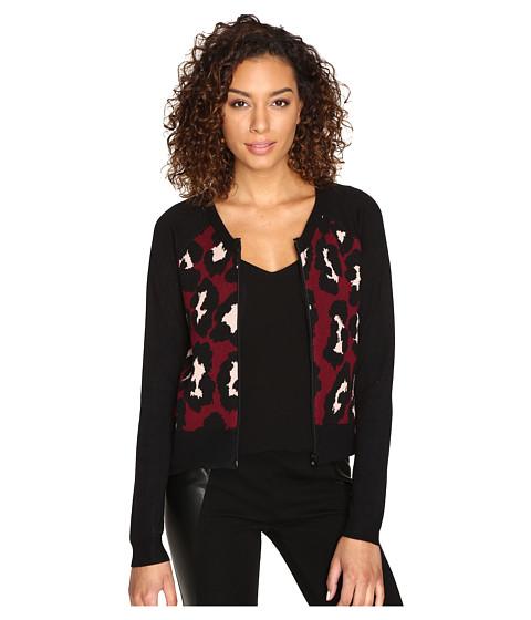 Imbracaminte Femei Romeo Juliet Couture Leopard Jacket Burgundy