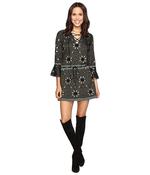 Imbracaminte Femei Rachel Zoe Tenley Jacquard Dress BlackTurquoise
