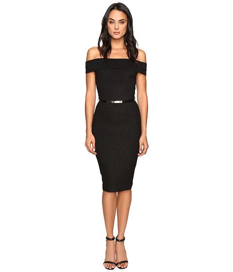 Imbracaminte Femei Ted Baker Vindy Bardot Midi Bodycon Dress Black
