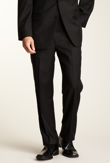 Imbracaminte Barbati Calvin Klein Slim Fit Solid Black Pant BLACK SOLID