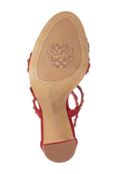 Incaltaminte Femei Vince Camuto Machila Block Heel Sandal RED ROSE