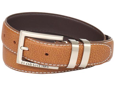 Accesorii Barbati Florsheim 32mm Full Grain Leather Belt Cognac